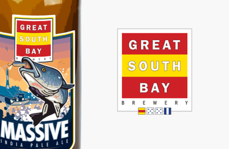 Great South Bay Brewery Labels and Logo