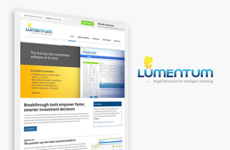 Lumentum Website Redesign