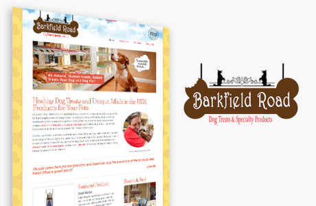 Retail website for Dog Boutique