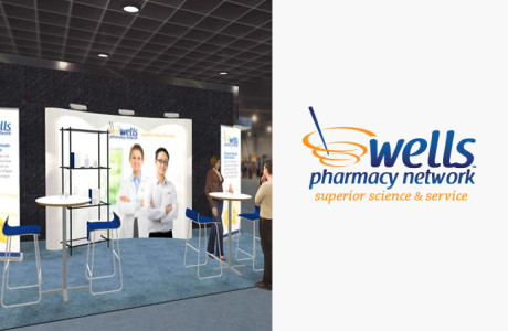 Wells Pharmacy Trade Show Booth Demo