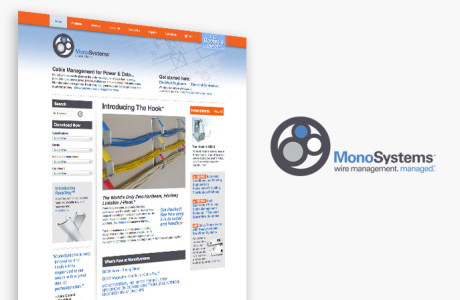 Monosysytems website design