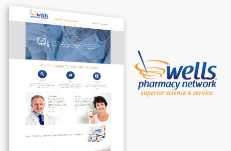 Wells Pharmacvy Group - corporate Website design/development