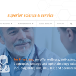 Wells Pharmacy - corporate website homepage